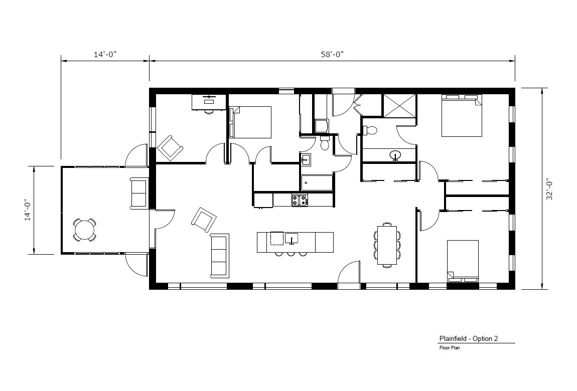 Floor Plan Option 2