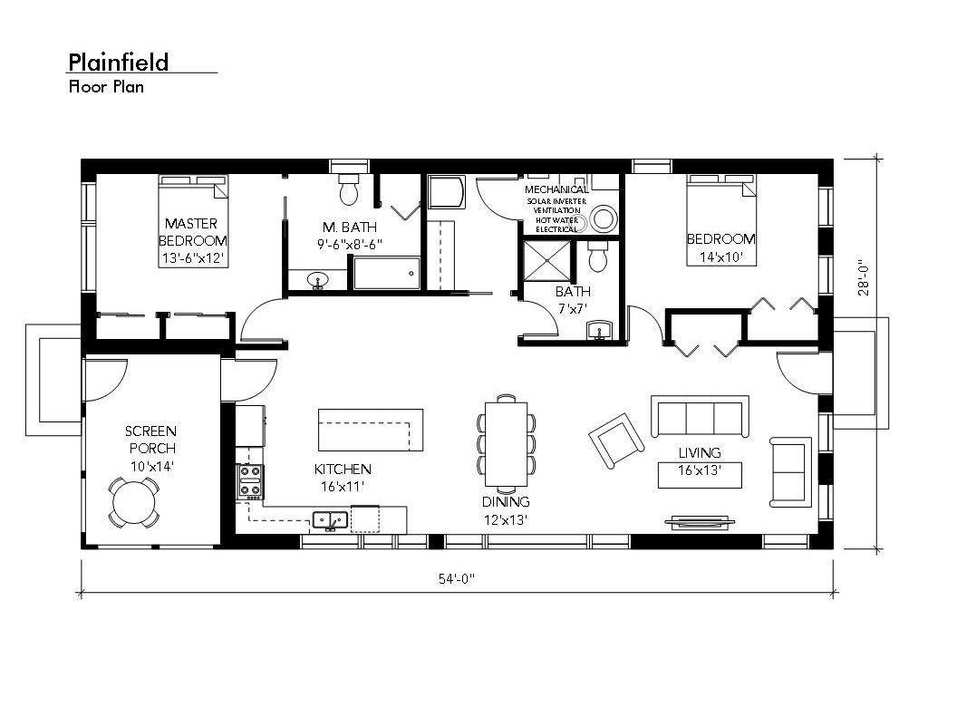 Floor Plan Option 1