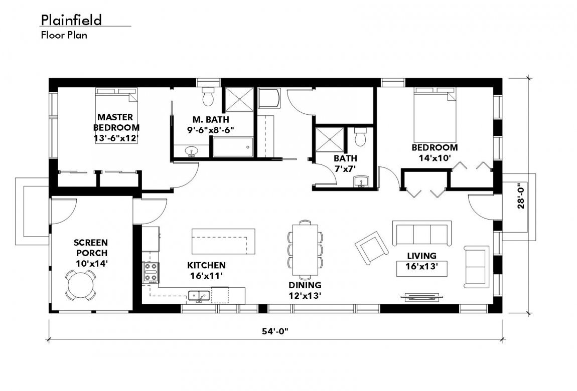 Floor Plan Option 1
